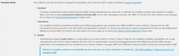 installer amp sur wordpress