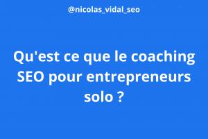 coaching seo pour entrepreneurss