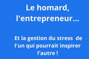 la gestion du stress de l'entrepreneur