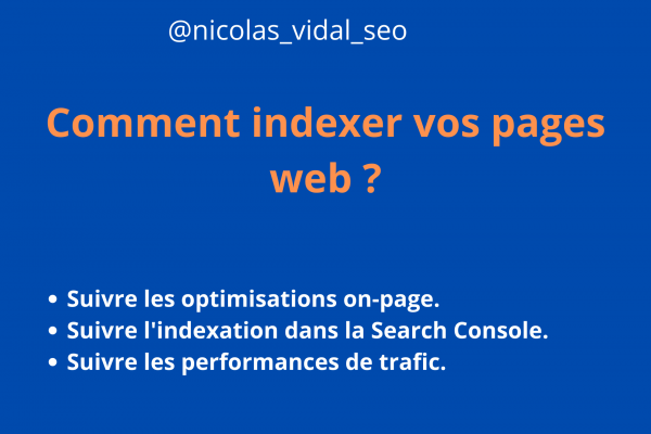 comment indexer une page web